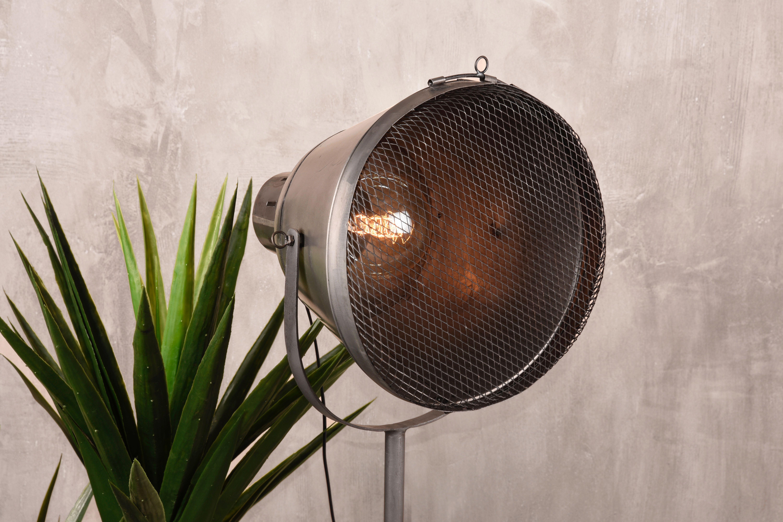 Gaas Het Interieur : Deze stoere industriële vloerlamp gaas is gemaakt van industrieel