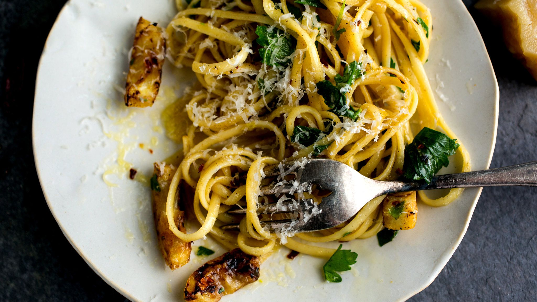 Pasta With Fried Lemons and Chile Flakes | Recipe | Pinterest ...