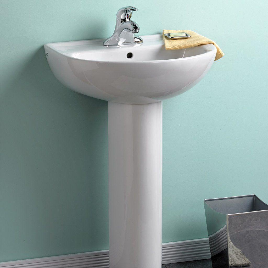Bathroom Pedestal Sink 24 Evolution American Standard