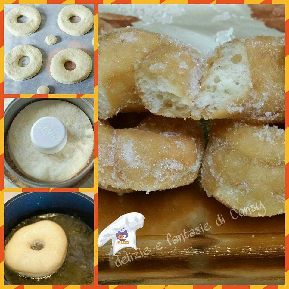 Oggi vi propongo delle squisite Piccole graffe con zucchero e cannella, ossia ciambelline lievitate con pochi ingredienti base , fritte e ripassate in un mix di zucchero e cannella ed ecco come si preparano…