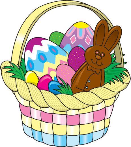 40+ Easter basket clipart images ideas