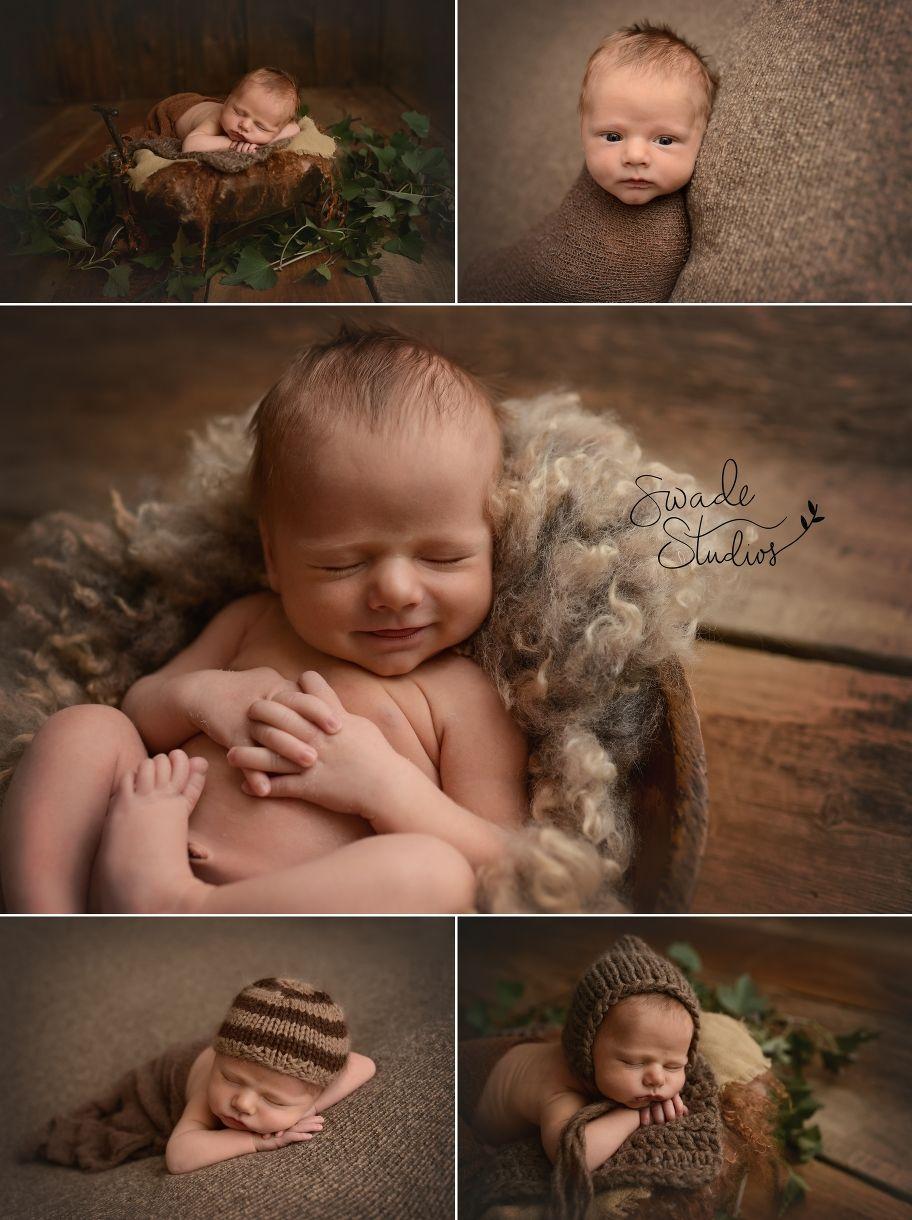 newborn baby boy in browns, kansas city photographer