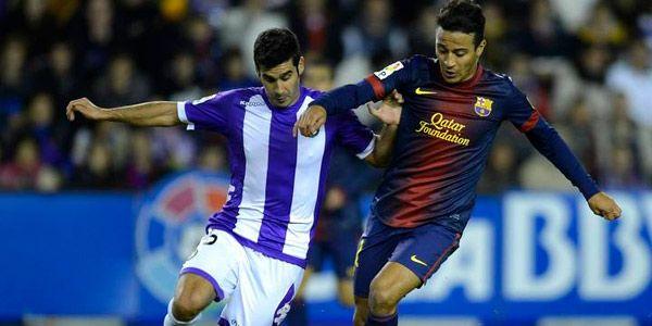 Hasil gambar untuk Barcelona vs Real Valladolid