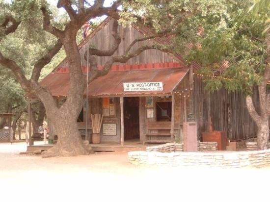 Landmark Hotel Luckenbach Texas Hill Country