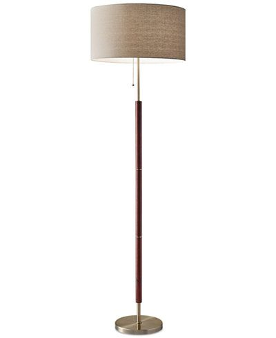 Adesso Hamilton Floor Lamp Amp Reviews All Lighting Home Decor Macy S Floor Lamp Lamp