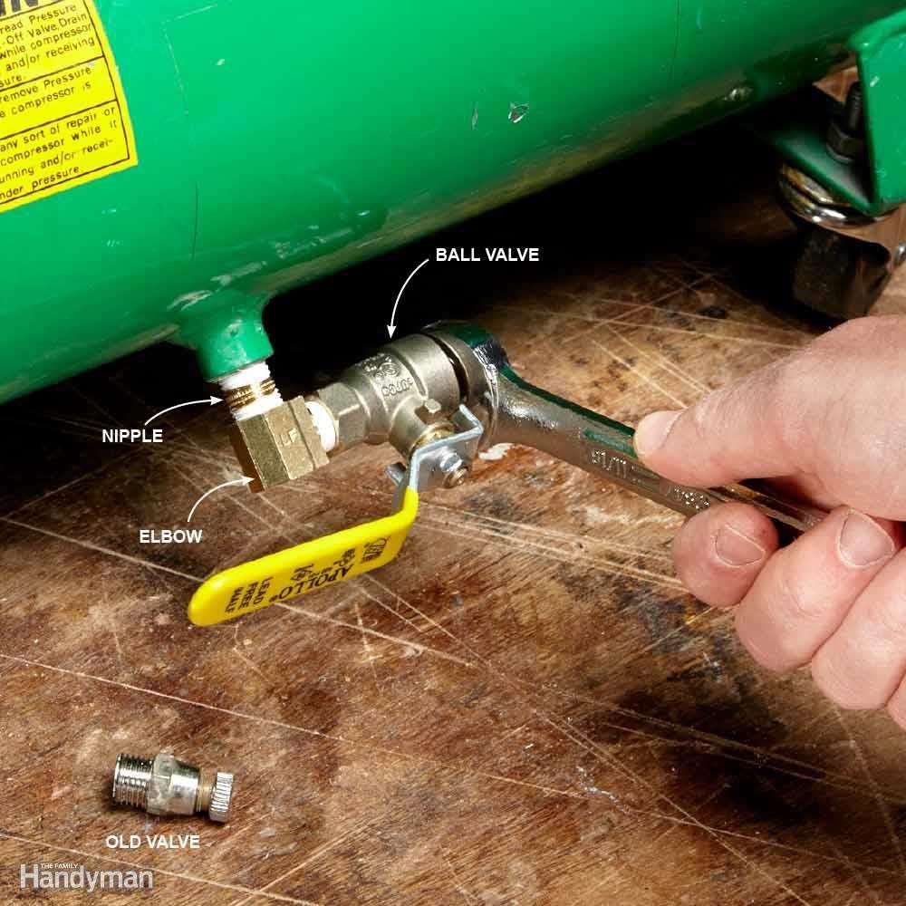 Convenient Compressor Drain Air compressor, Air