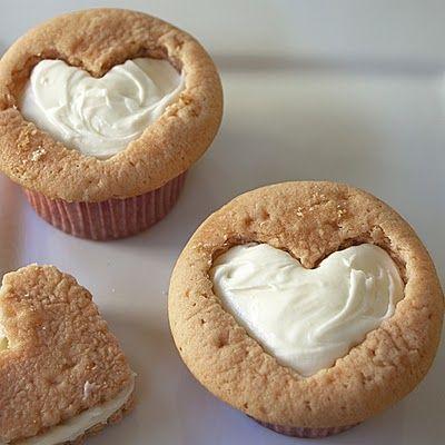 I Heart Cupcakes -Cute idea!