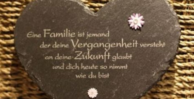 Gedichte zum nachdenken familie