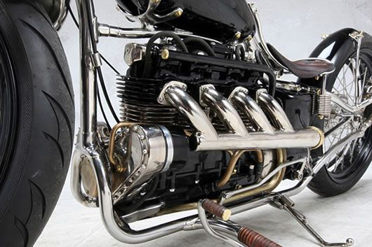 Rambler Inline 4 from Cook Customs   Custom Motorcycles
