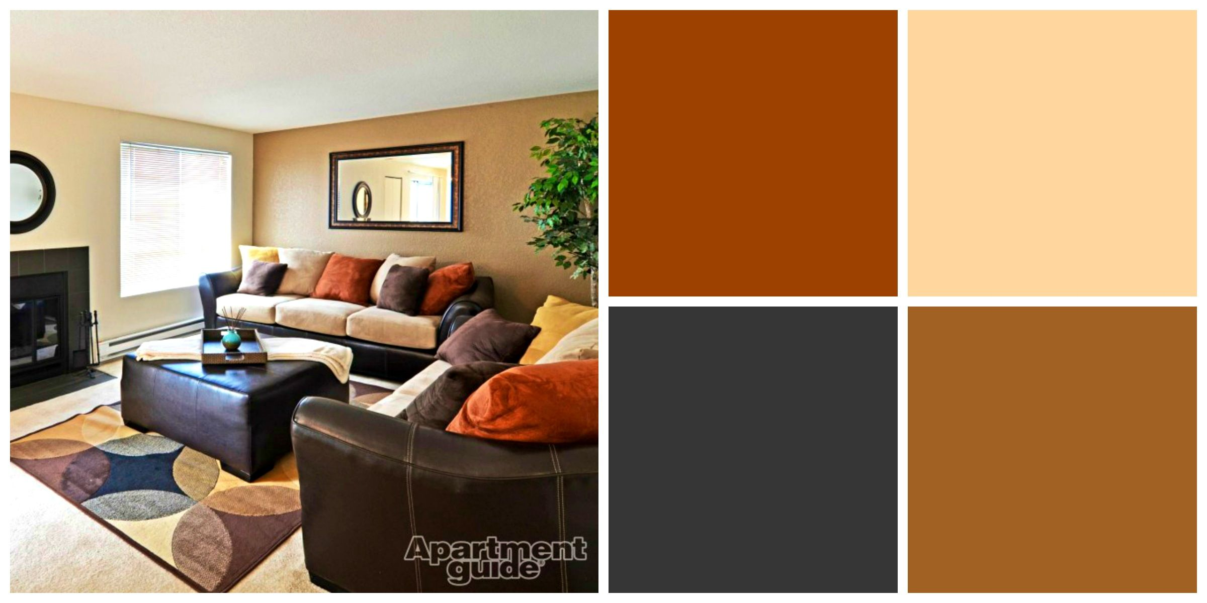 Best Paint Colors For Apartments Apartments Splendid Earth Tone Living Room Green Wall