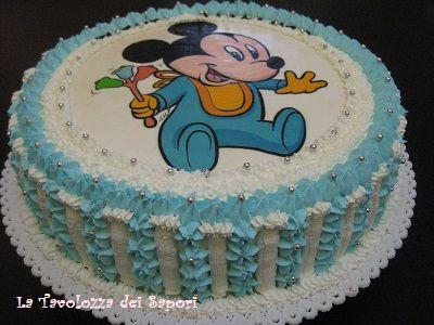 Risultati immagini per torta 1 compleanno bimbo con ostia
