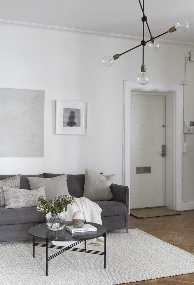 Peque o piso con gran cocina casa lamparas cocina for Lamparas estilo escandinavo
