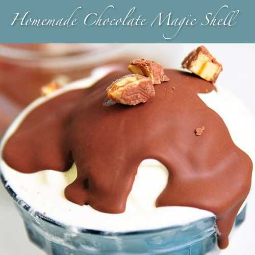 Homemade Chocolate Magic Shell