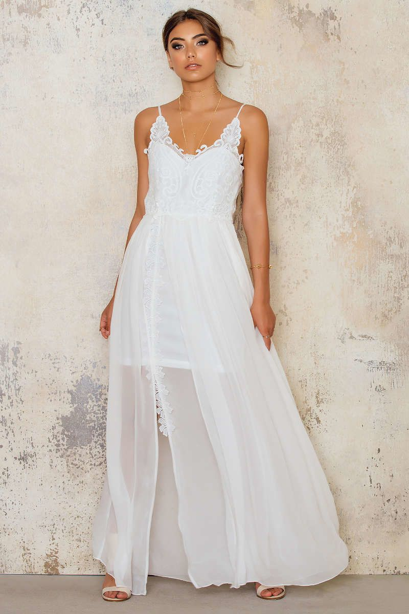 Grecian style maxi wedding dress, perfect for beach wedding ...