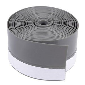 uxcell Door bottom seal weather strip silicone rubber material width 45mm length 4M gray: a17112100u …
