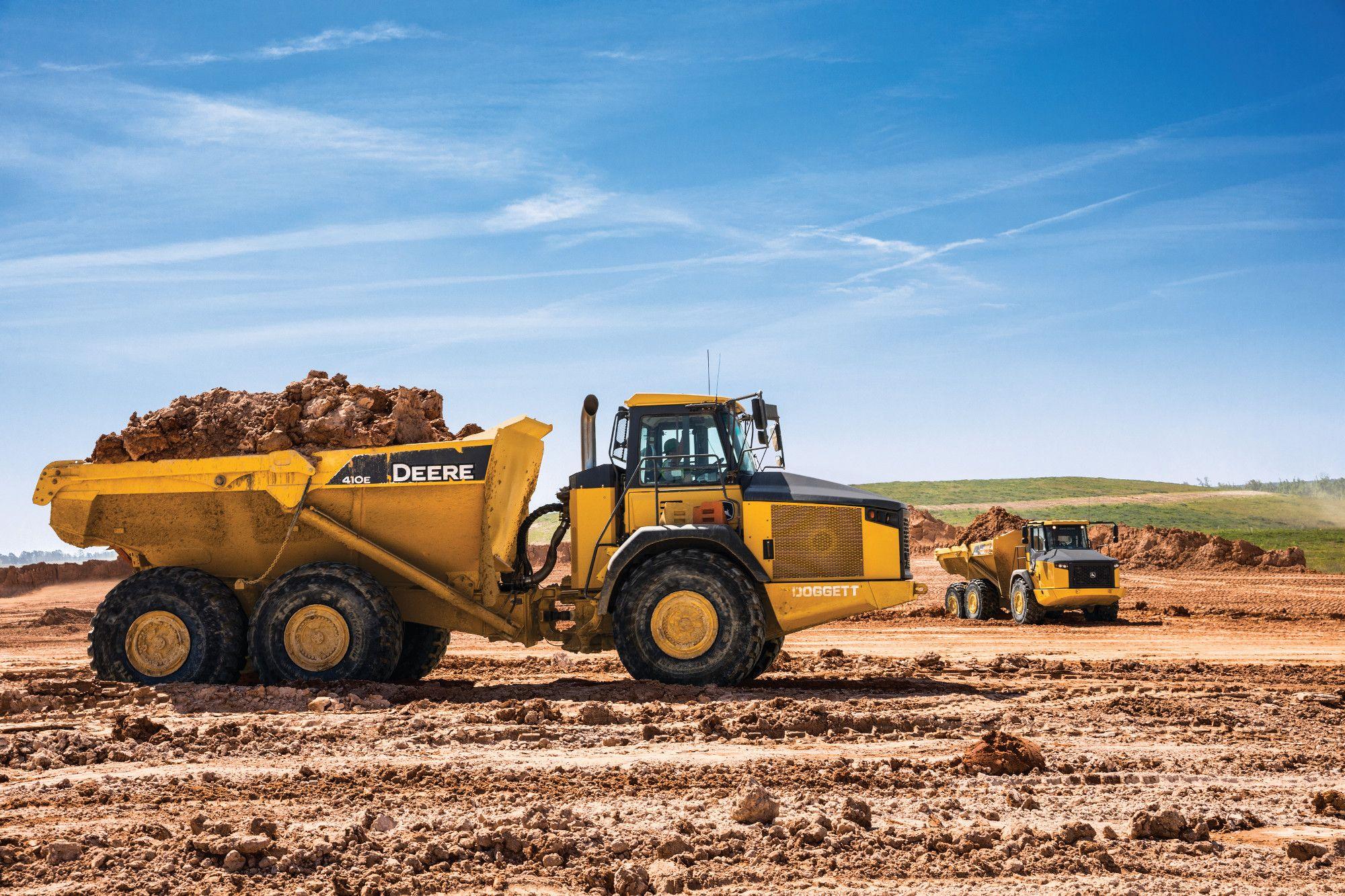410E Articulated Dump Truck 📸 Dump trucks