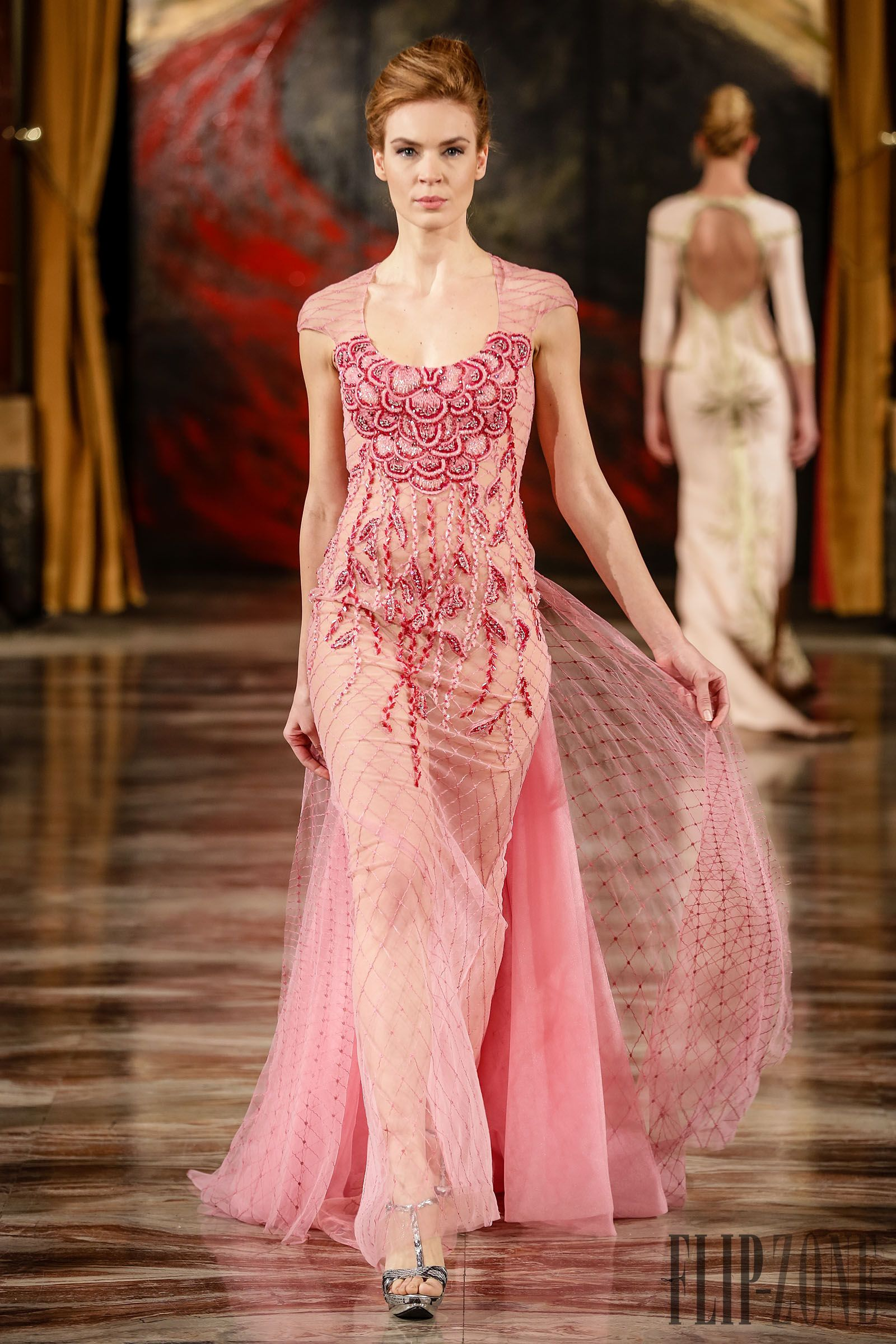 Toufic Hatab Spring-summer 2015 - Couture - http://www.flip-zone.com ...