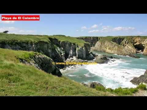 Playas Asturias: Playa de El Calambre