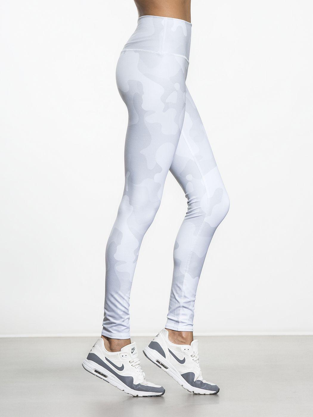 84a30c93feb9e High-Waist Airbrush Legging | MODE | sweat | White camo, Leggings ...