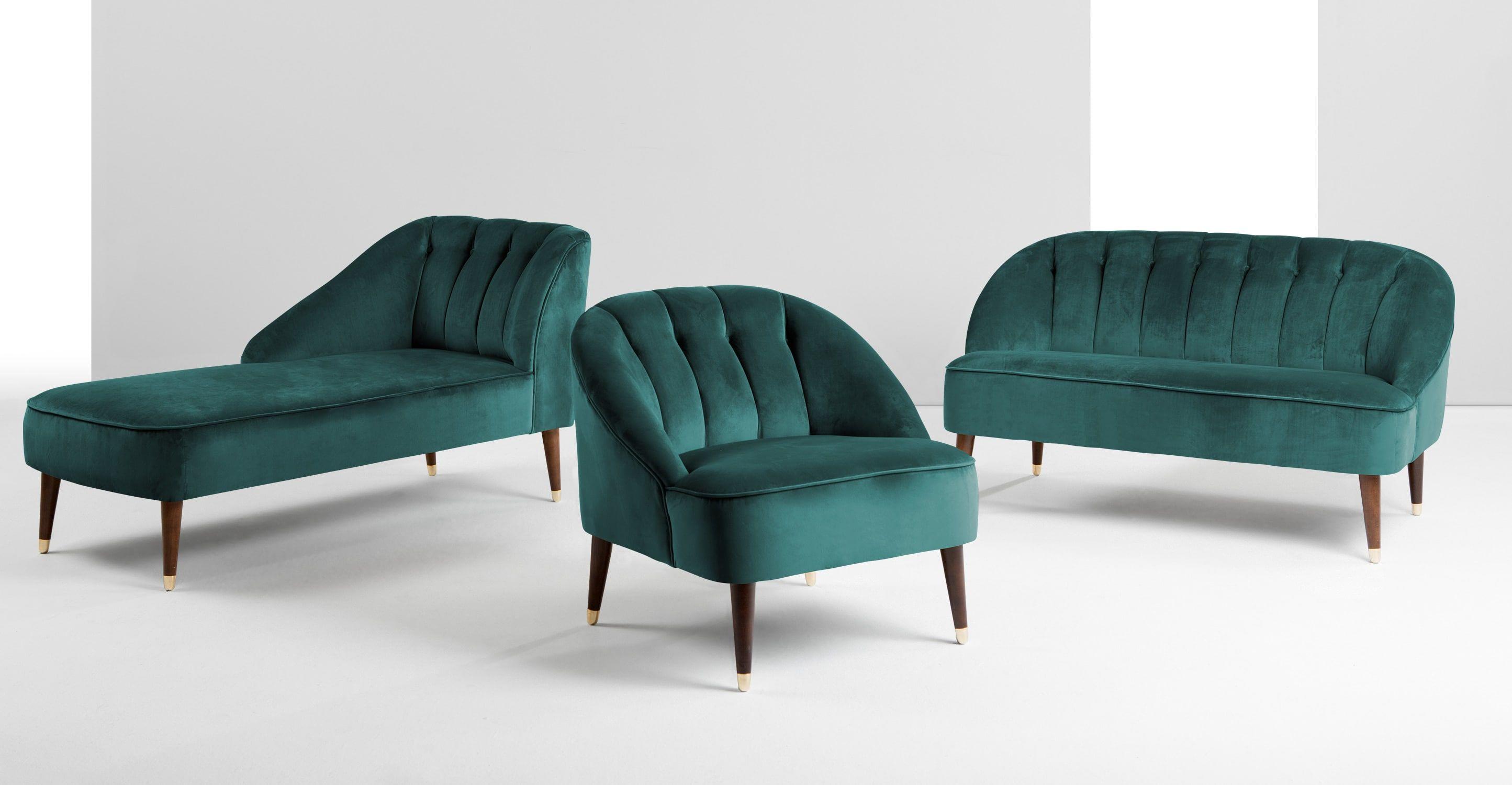 Wohnideen Lifestyle 2015 margot fauteuil d appoint velours bleu paon peacock blue blue