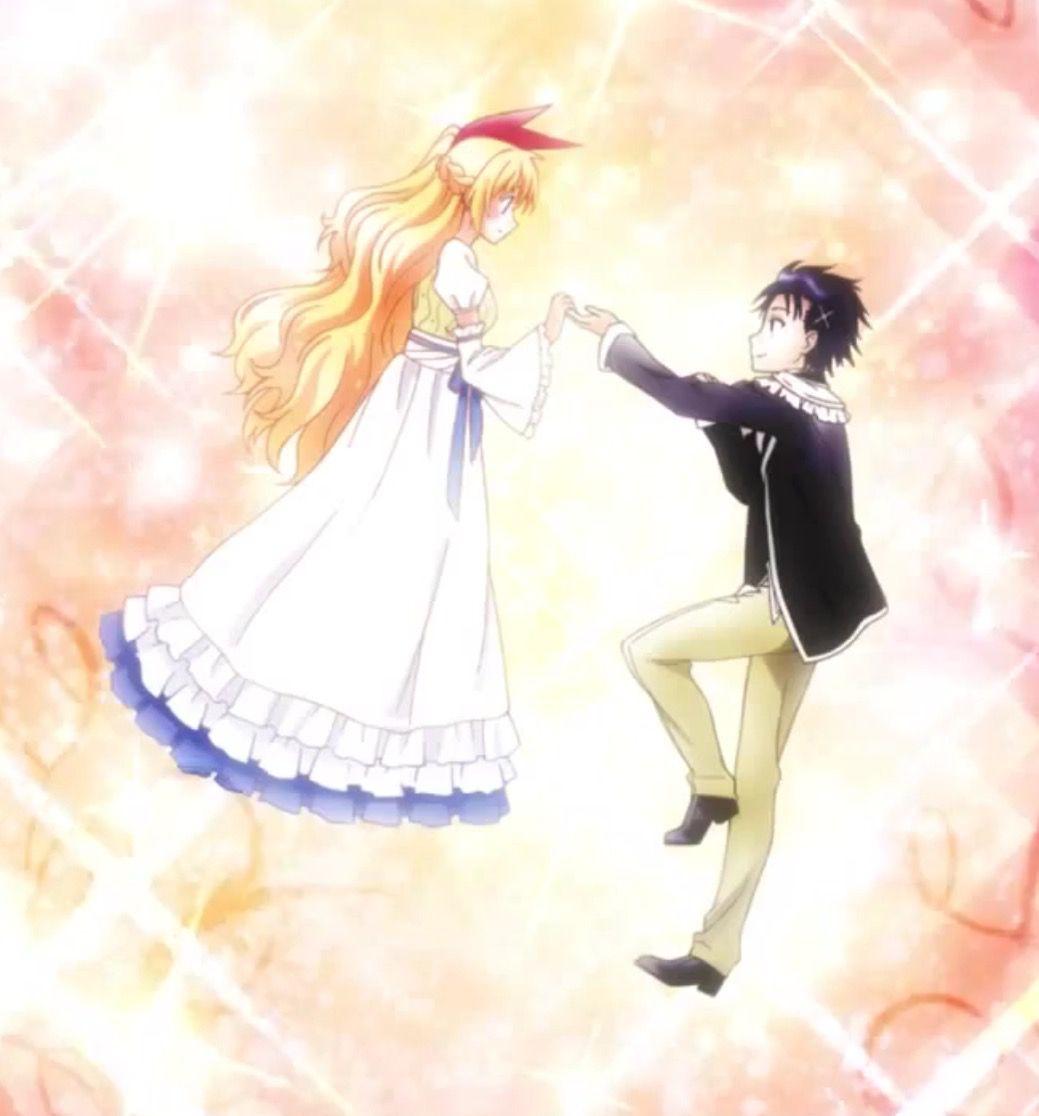 Chitoge x raku i love this ship nisekoi anime anime