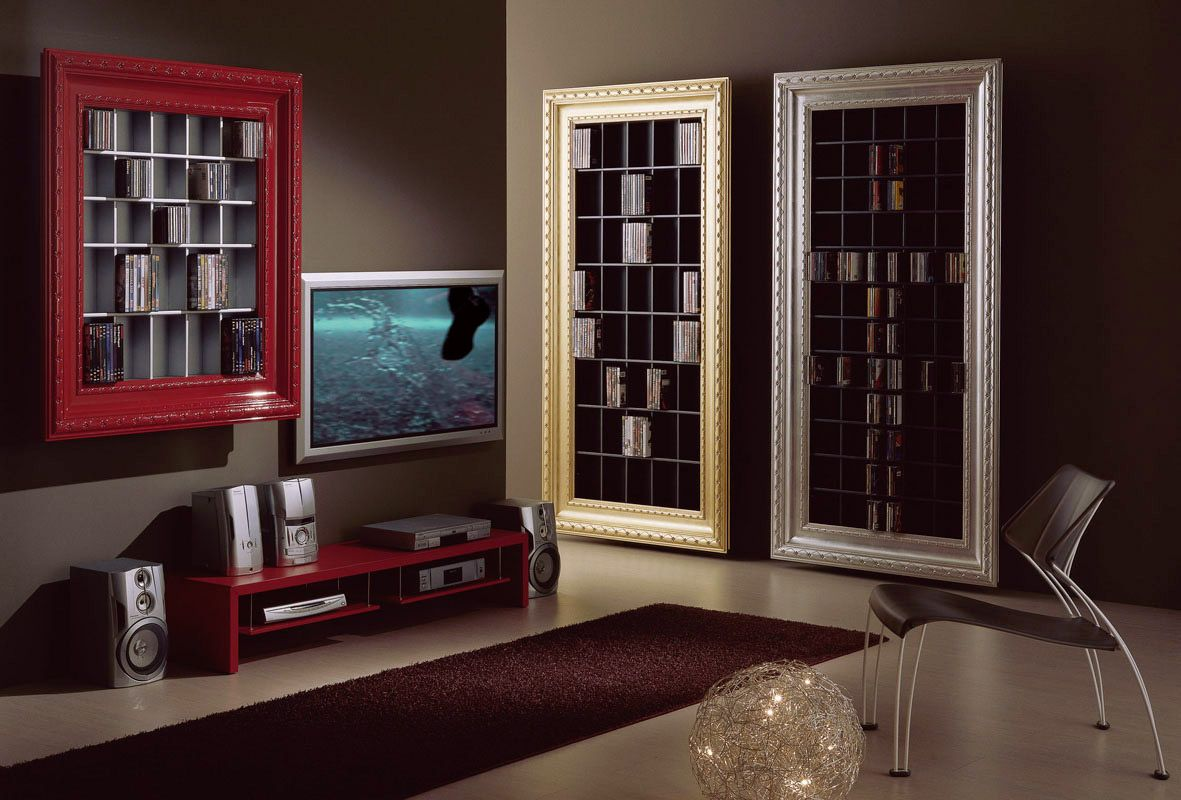Home Cd Dvd Rack By Vismara Design Pinterest Cd