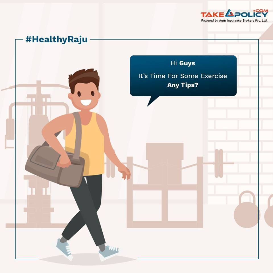 Share Your Exercise Tips With Raju And Help Him Lead A Healthy