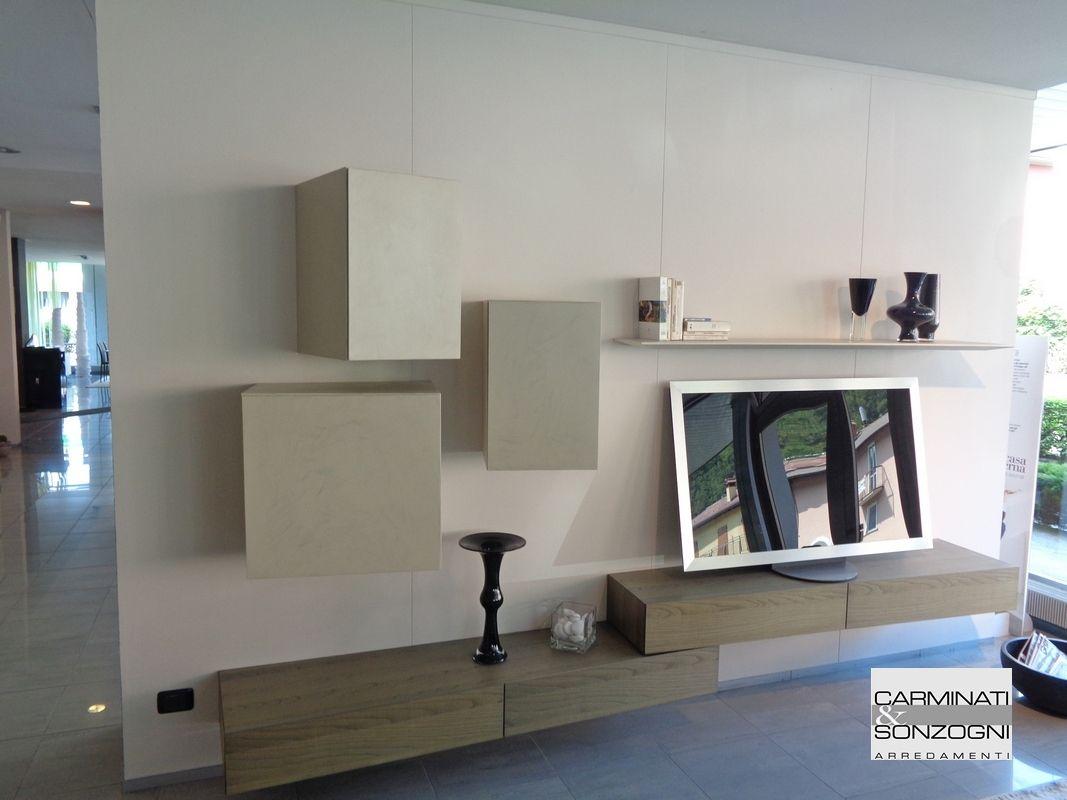 outlet soggiorno Presotto Modulart | Arredamento parete ...