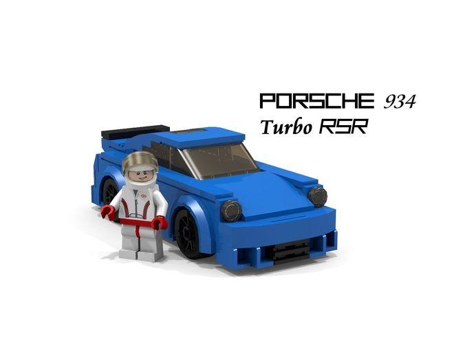 porsche 934 turbo rsr stuttgart lego porsche lego. Black Bedroom Furniture Sets. Home Design Ideas