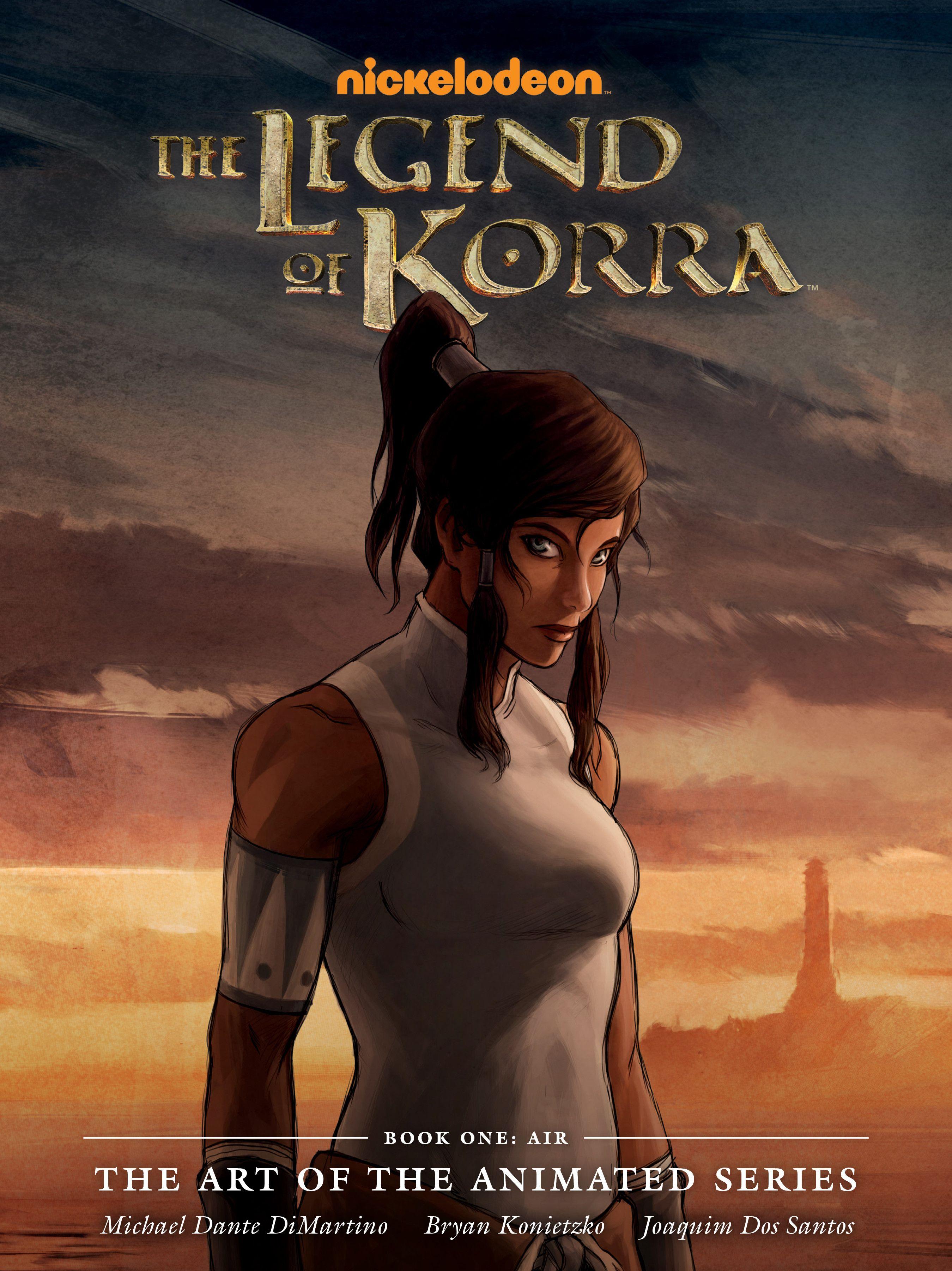 Artbook book one air legend of korra korra korra comic