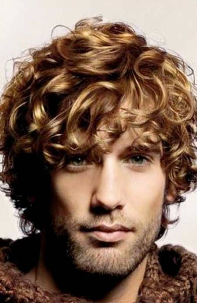 Short Hairstyles Curly Hair Men Over 50