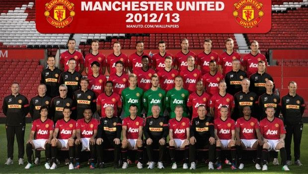 Manchester United 2012 13 Squad Photo Manchester United Team Manchester United Official Manchester United Website