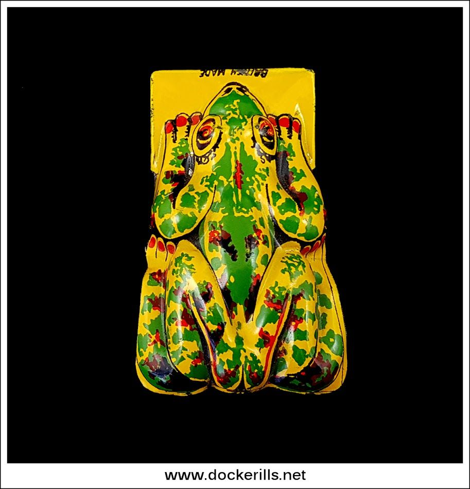 Frog Clicker, GTP / Glam Toys Ltd., United Kingdom. Vintage Tin Litho Tin Plate Toy. Hand Operated. Photo in DOCKERILLS - TIN TOY REFERENCE - GREAT BRITAIN - Google Photos
