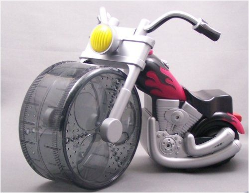 0 00 Pets International Critter Operated Chopper Exercise Wheel
