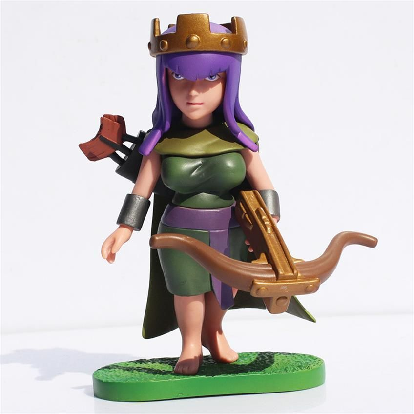 Clash Of Clans Archer Queen Pvc Action Figure Toy In New