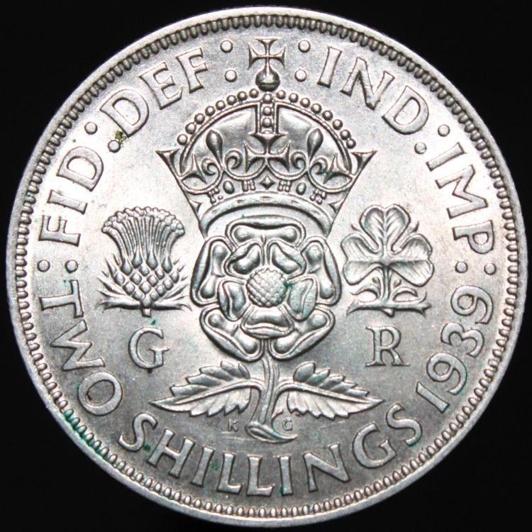 coin worth two old shillings