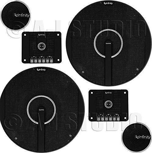 Infinity Kappa 60.11CS 6-3/4 Component Speaker System #componentspeakers