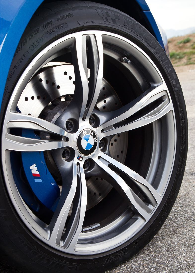 M Badges Everywhere On This Car Love The Blue Calipers And The