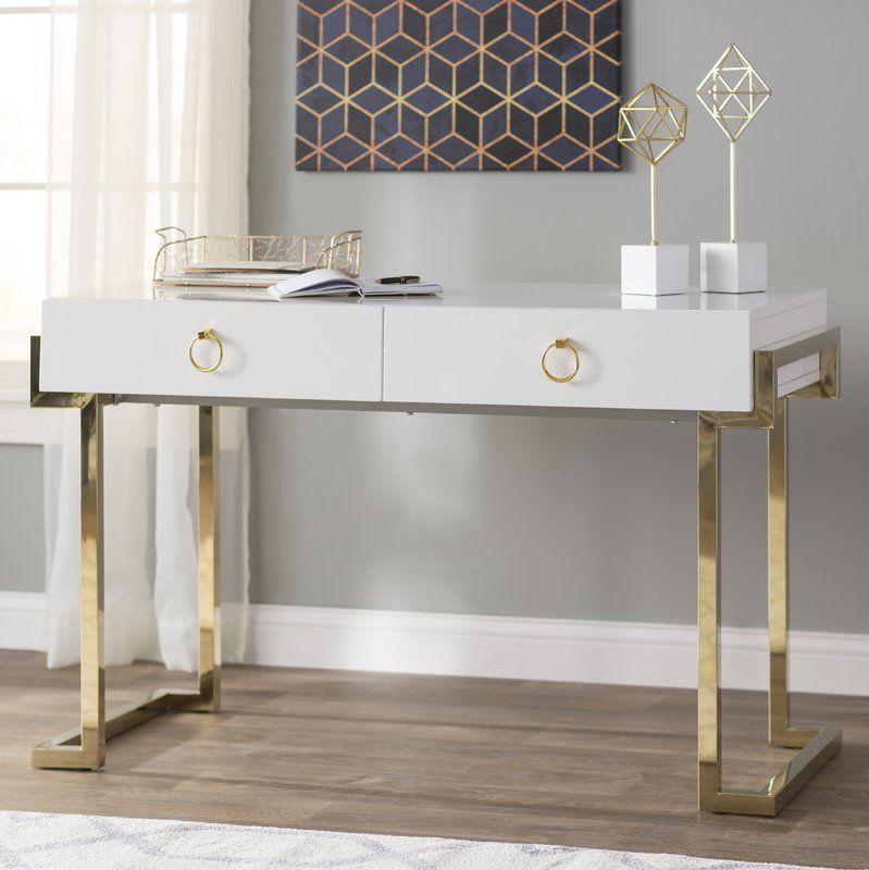 Julia 2 Drawer Desk