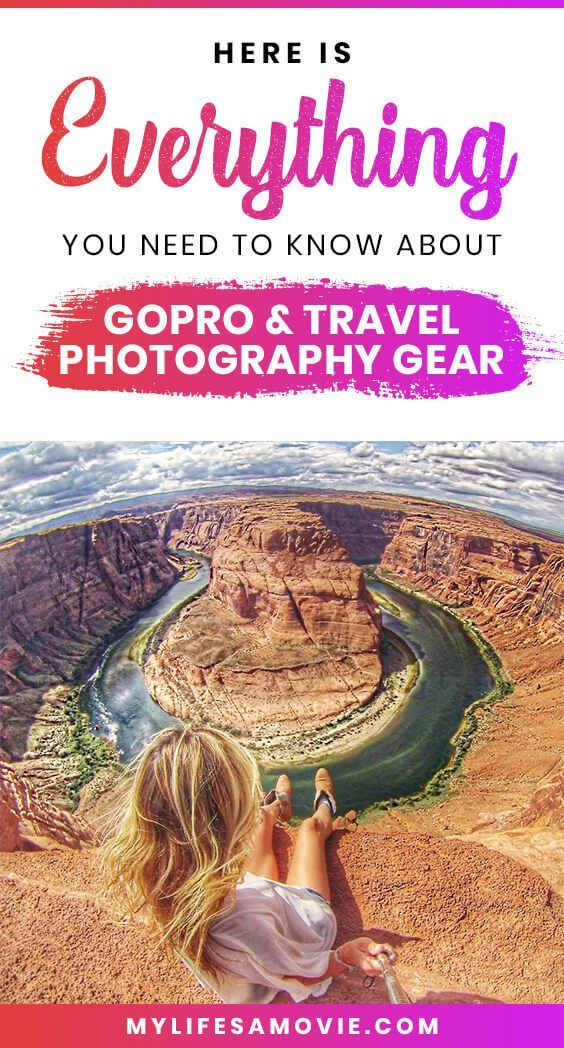 Photo of GoPro & Travel Photography Gear Guide – My Life's a Movie