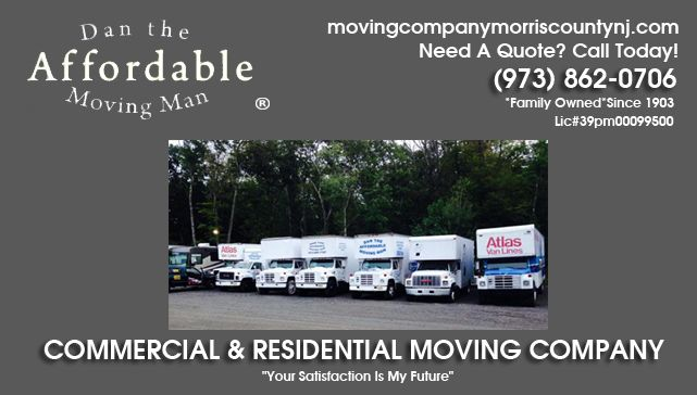 Commercial Moving Company Morris County NJ