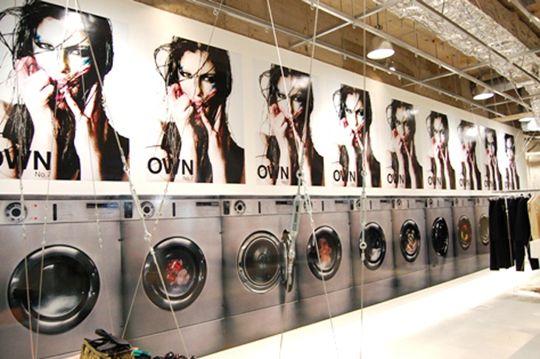 Exhibition Front Laundromat Exhibition Amazing Art