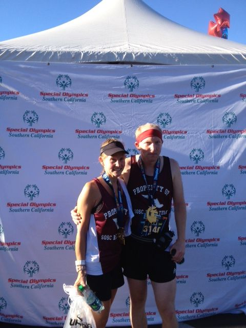 #26: I run for the Special Olympics of Southern California. #Disney1/2Marathon2012