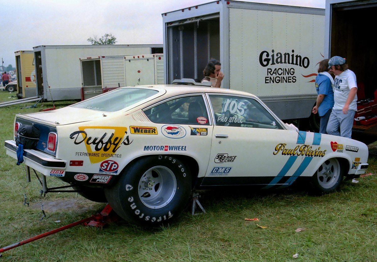 Paul Blevins Pro Stock Vega Drag Racing Race Engines Race Cars