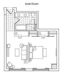 Typical Hotel Room Floor Plan Hotel Rooms And Suites Near Long Island City Nyc The Ravel Hotel Cuartos Para Rentar Distribucion De Casas Planos De Casas