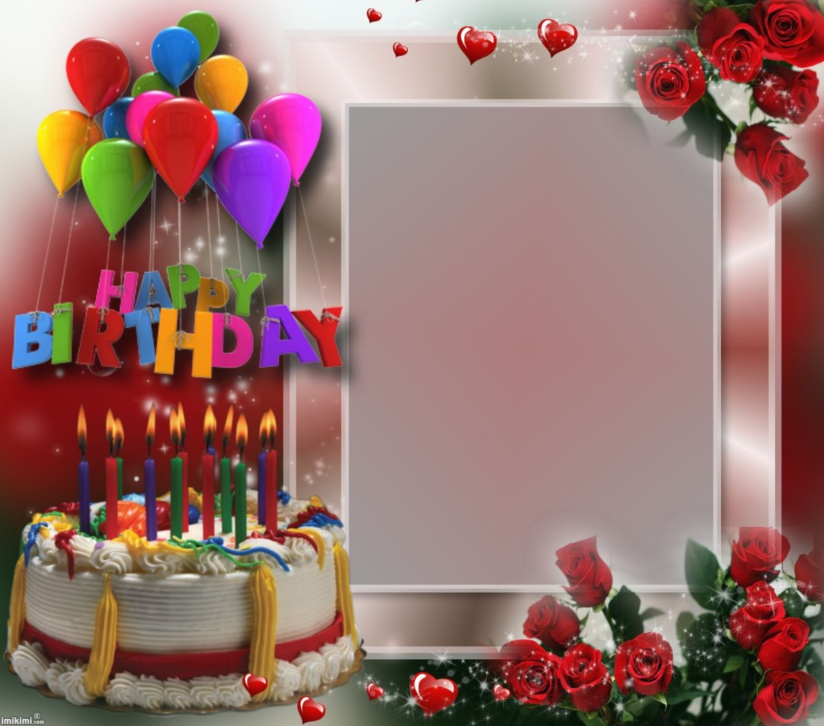 Photo editing services happy birthday image