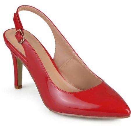 b45d27df00d Brinley Co. Women s Slingback Almond Toe Pumps