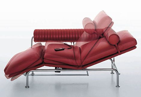 Modern Chaise Lounge Sofa Bed Up & Down Lounge Sofa by i4