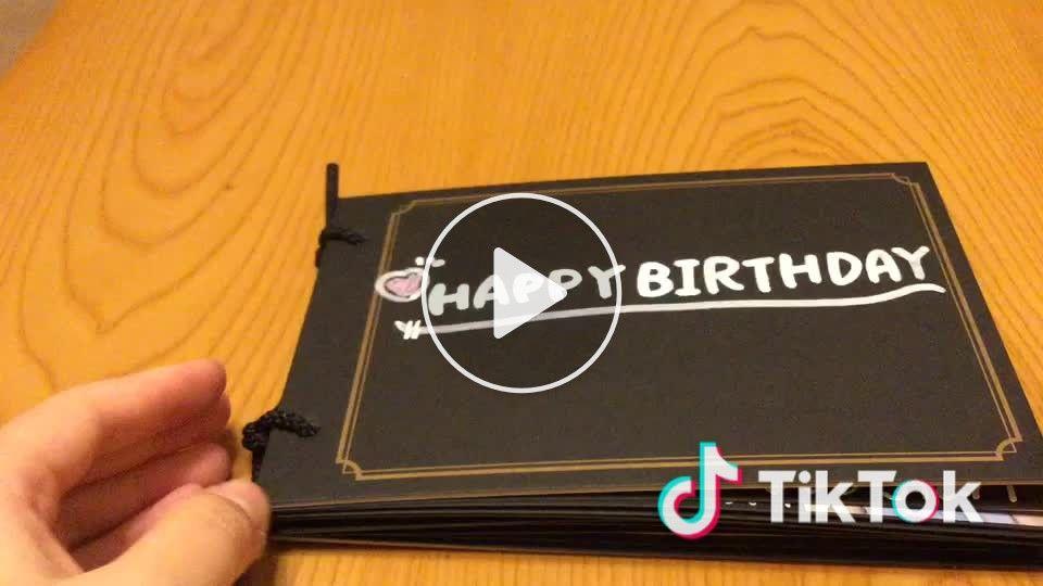 誕生 日 カード 仕掛け