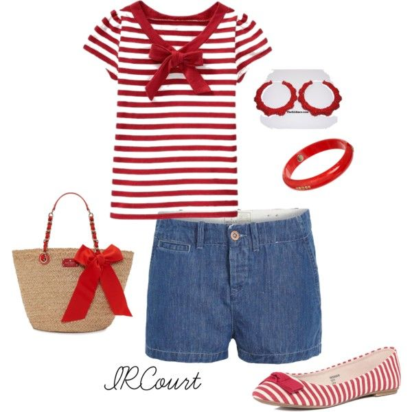 """""""Red Bow"""" by ircourt on Polyvore"""